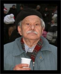 Puskás Ferenc gyászkép