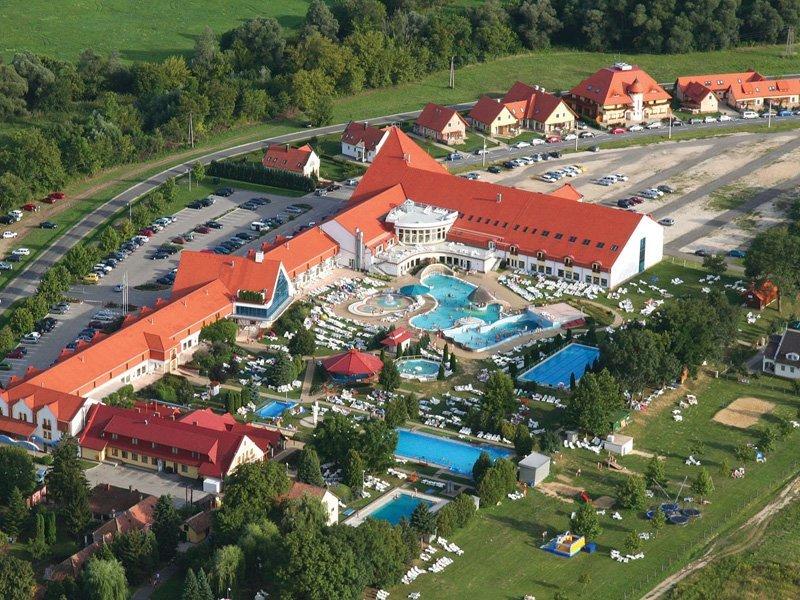 Kehida Termál Hotel látkép
